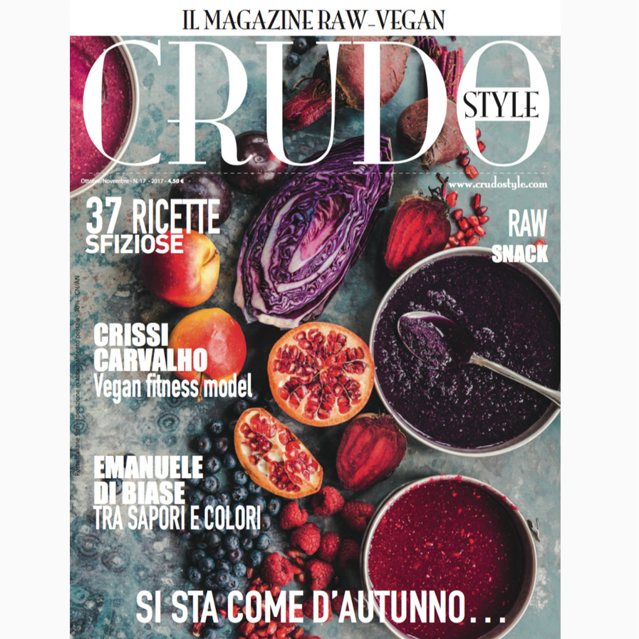 Magazine Vegan Crudostyle 17